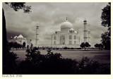 Taj Mahal in Clouds