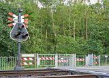 Railwaycrossing Neerveldsweg - July 2006