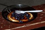 Buttermilk Pancakes, Blueberries and Maple Syrup...could it get any better ?