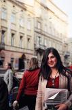 Girl on Lychakivsky Street II