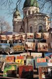 Art show, main marketplace