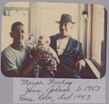 Three generations.  I was in the sixth grade when gradpa died.