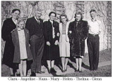 The Hove family sometime in the 1940s.