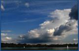 Clouds over Lake Nokomis.