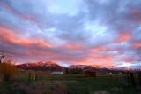 Gorgeous evening skies