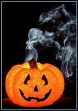 Pumpkin smoker