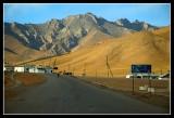 Road to China in Sary Tash