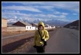 Road to Tadjikisztan in Sary Tash