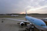 Narita Airport Sunset
