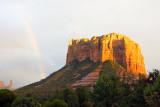 Sedona AZ Castle Rock Rainbow 2