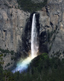 Late Afternoon Bridalveil Falls Rainbow