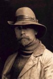 Edward S. Curtis self-portret circa 1889