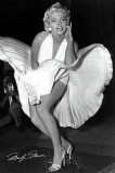 Matty Zimmerman: Marilyn Monroe as The Girl at The Seven Year Itch movie, 1954