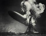 Sam Shere /1904-1982/: Burning of the Hindenburg, 1937