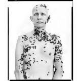 """Ronald Fischer Beekeeper, Davis, California (""""In The American West""""), 1981"""