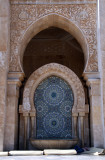 Detail of Hassan II mosque