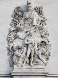Detail of Arc de Triomphe