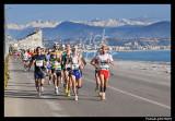 Marathon Nice Cannes 2008 - running