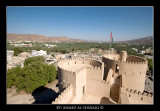 Rustaq Fort View on Town
