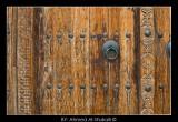 Wooden gate at Hazm Fort