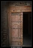 Qurayat fortress Door