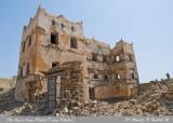 Ruins of big house in Mirbat