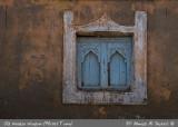 Old Wooden Window in Mirbat