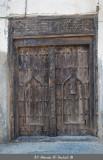 Old Wooden Door in Mirbat