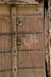 Old Wooden Door from Nizwa old mud houses