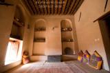 Traditional Sitting Room (Majlis) From Nizwa Fort