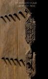 Old Wooden Door from Nizwa Fort