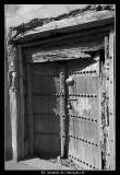 Old Wooden Door - Nizwa