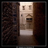 Passage way in one of the old villages in Nizwa