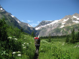 July 25, 2009 - Gunsight Pass to Sperry Chalet