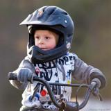 Loke at the BMX-track