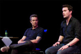 Drill Hall, Acting Q&A with James and Gareth