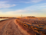 Essex Point winter sunset