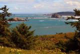 Sea Stacks north of Cape Blanco