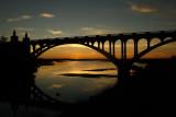 Patterson Bridge and Estuary Sunset