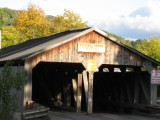 Middlebury, VT - Pulp Mill Covered Bridge