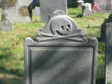 Gravestone at Burial Hill Cemetery - Plymouth, Mass.