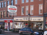 Newburyport, Mass. (Fowlers - a Great Old Time Soda Fountain)