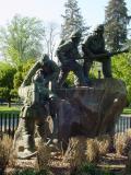 Firefighter Memorial  in Capitol Park
