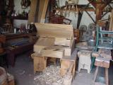 Woodworking shop...