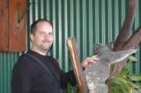 Self making friends with Koala  Daintree Forest Sanctuary