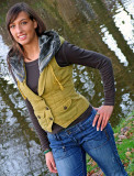 Model  Birgit Benscheidt Winter Casual    Enschede Netherlands