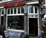 Rembrandt Corner Cafe  Amsterdam