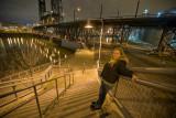 Rebekah Along the Steel Bridge