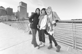 Three Gals from Indonesia