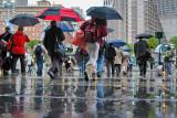 Rainy Day Commuters